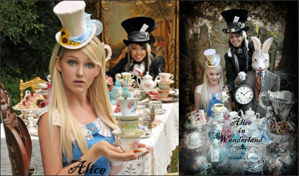 Alice In Wonderland Adult Tea Party