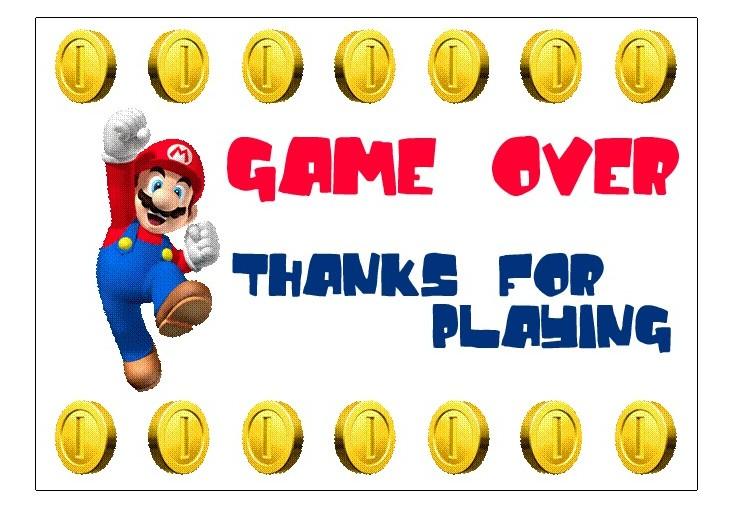 Super Mario Bros Party Ideas Yvonnebyattsfamilyfun